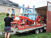 UNIKÁTEM ZDEJŠÍHO SBORU je historická kyvadlová stříkačka vyrobená v roce 1790, která je stále plně funkční.