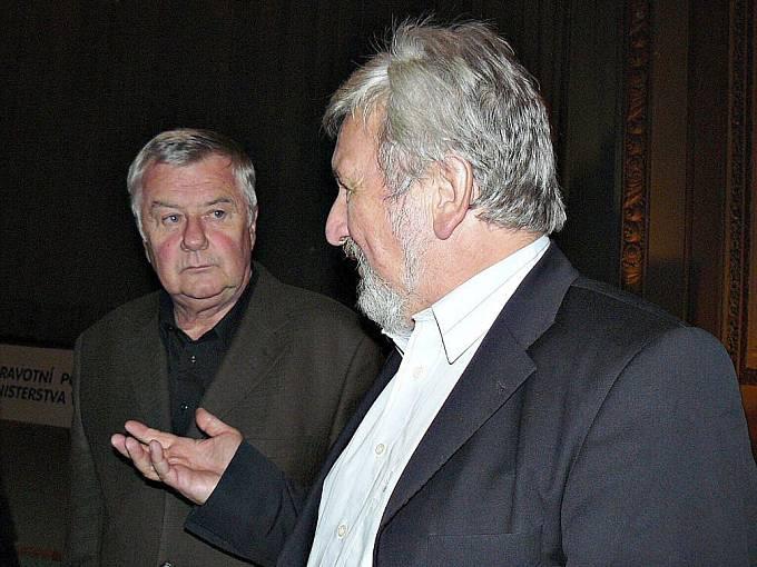Ladislav Potměšil a Jan Cimický.
