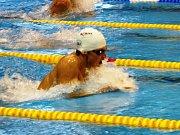 Hned sedm osobních rekordů si zaplaval v západočeské metropoli Josef Matyáš.