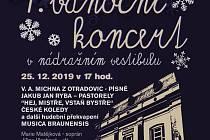 Plakát k vánočnímu koncertu v Meziměstí.