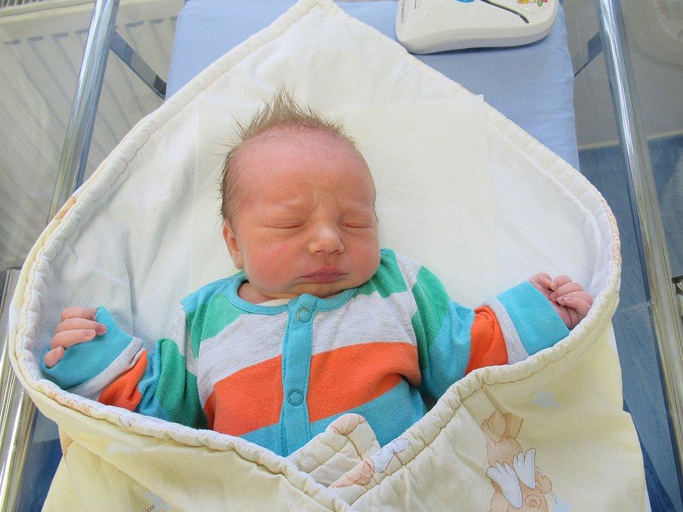 Marek je na světě! Narodil se ve čtvrtek 7. ledna 2021 v 04:12 hodin a jeho míry byly 3,84 kg a 52 cm.