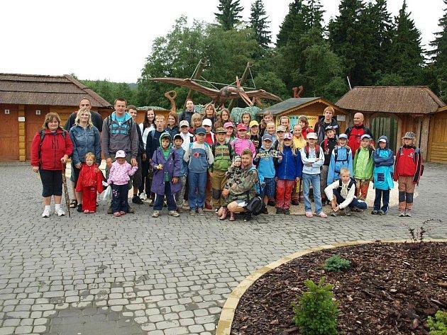 Děti z oddílu Stopa mají na letním táboře jednu akci za druhou