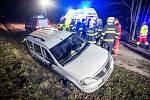 Při nehodě zahynul řidič.