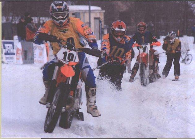 Dvojice Švorc–Mareš skončila ve víkendových závodech v Letohradě na osmém místě.