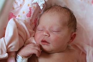 Justina Martinová je prvním děťátkem manželů Pavly a Ondřeje z Hronova. Holčička poprvé vykoukla na svět 6. listopadu 2018 v 9,26 hodin a její míry byly 3500 gramů a 47 centimetrů.