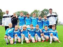 Fotbalový výběr OFS Náchod U12 vyhrál turnaj v Broumově.