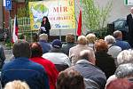 Setkání komunistické strany v Náchodě na 1. Máje.