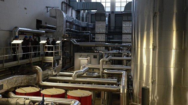 Nový plynový kotel Teplárny Náchod