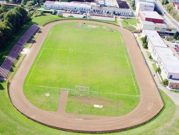 Stadion Hamra vNáchodě.