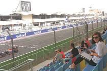 Formule 1 - tréninkový den.