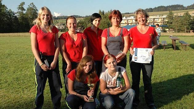 ŽENY Nového Hrádku slavily v Bukovici premiérové vítězství v letošním ročníku Náchodské hasičské Primátor NTC ligy.