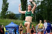 NOVOMĚSTSKÁ vícebojařka Michaela Broumová v Kladně potvrdila vysokou výkonnost, která jí ve špičkové mezinárodní konkurenci  vynesla konečnou jedenáctou příčku.