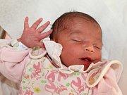ANNA HUŇÁKOVÁ z Jaroměře poprvé vykoukla na svět 27. prosince 2016 ve 14.15 hodin. Holčička vážila 2710 gramů a měřila 45 centimetrů. Je prvním miminkem Anny Ševcové a Martina Huňáka.