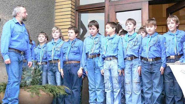 FINANČNÍ PŘÍSPĚVEK na podporu činnosti dětí obdržel také místní oddíl KADET.