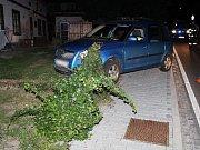 Mladík řídil pod vlivem alkoholu, během jízdy havaroval.