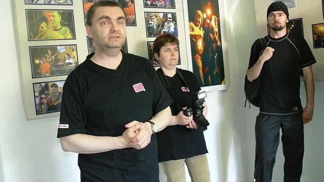 Vlastislav Balcar  fotil kapelu.