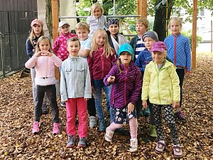 Žáci z Montessori základní školy v Náchodě