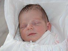 ANNA BURSÍKOVÁ se narodila 7. března 2012 ve 3:27 hodin s váhou 2970 gramů a délkou 48 centimetrů. S rodiči Denisou a Alešem Bursíkovými mají domov v Nahořanech.