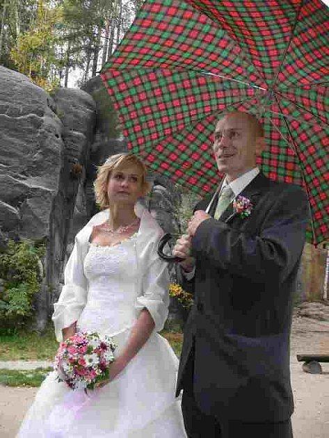 Svatba snů v Adršpachu.