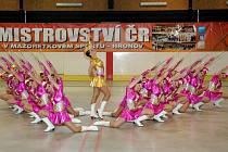 V hronovské Wikov aréně se konalo Mistrovství ČR v mažoretkovém sportu.