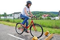 Na dětském dopravním hřišti v Bělovsi se ve čtvrtek 21. května uskutečnilo okresní kolo Dopravní soutěže mladých cyklistů.