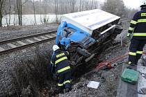 K nehodě došlo 1. listopadu před sedmou hodinou ráno v katastru Hronova, části Žabokrky.