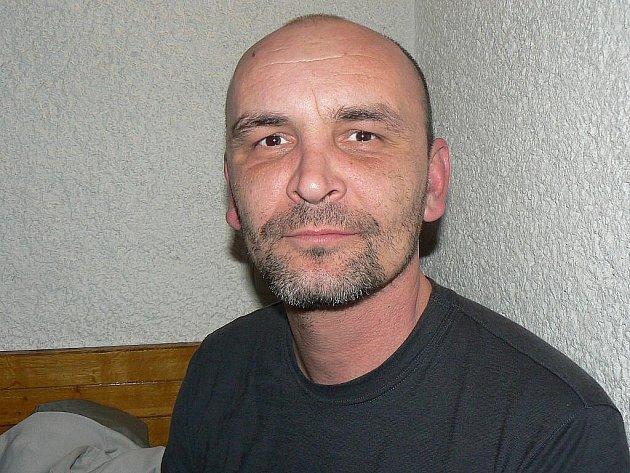 Martin Kosobud z Českého Brodu, jeden z účastníků zimního táboření na Hvězdě.