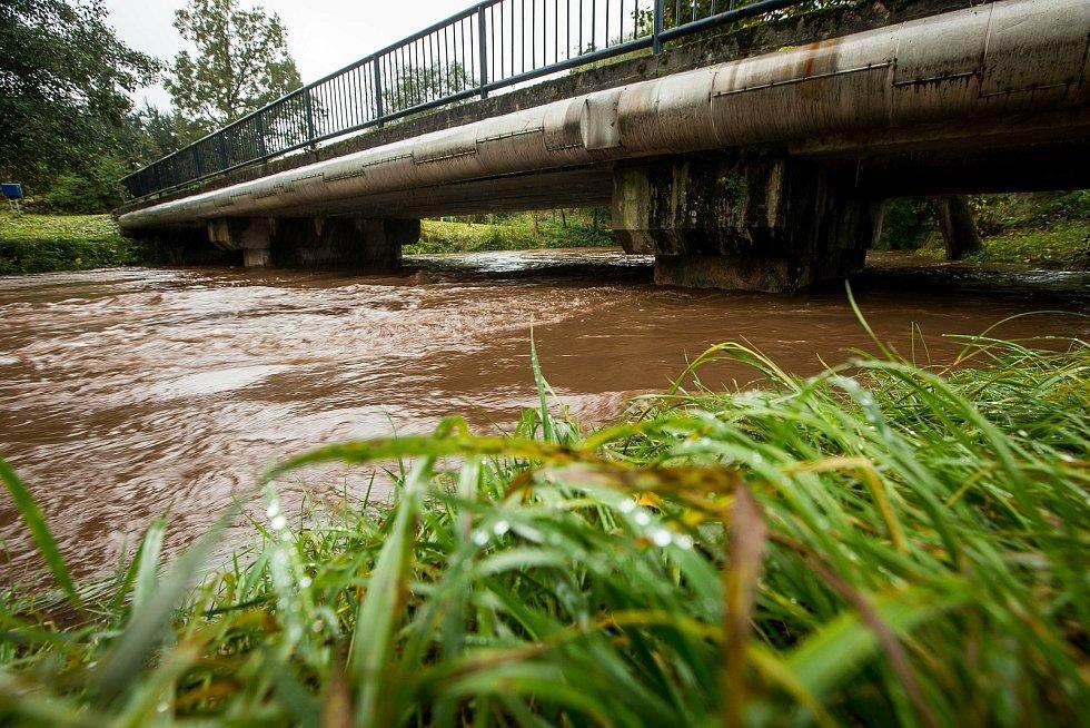 Východní Čechy zasáhly povodně.