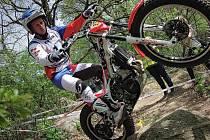 JIŘÍ SVOBODA toho v uplynulém roce stihl na motorce hodně. Kromě závodů a exhibicí také dovolenou.
