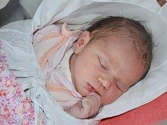 SOFIE RAILOVÁ se narodila 19. února 2016 v 6.47 hodin s váhou 3625 gramů a délkou 51 centimetrů. S maminkou Michaelou a tatínkem Martinem mají domov na Vysokově.