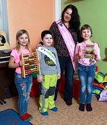 Žáci 1. třídy ze ZŠ Martínkovice
