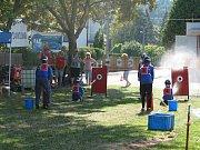 Oslava 60. výročí práce Sboru dobrovolných hasičů Běloves s mládeží.