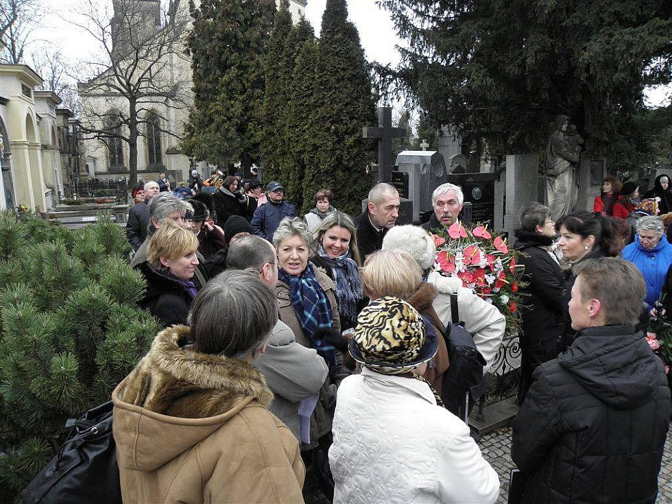 Vzpomínka na Boženu Němcovou.