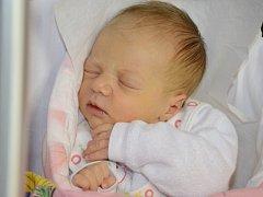 KLÁRA BEDNÁŘOVÁ se narodila 11. prosince 2012 v 10:07 hodin s váhou 3405 g a délkou 50 cm. S rodiči Alenou a Janem, a s dvouletou sestřičkou Vendulkou, bydlí v obci Vrchoviny.