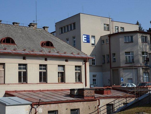 Náchodská nemocnice.