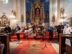 Koncert v kostele v Ruprechticích.