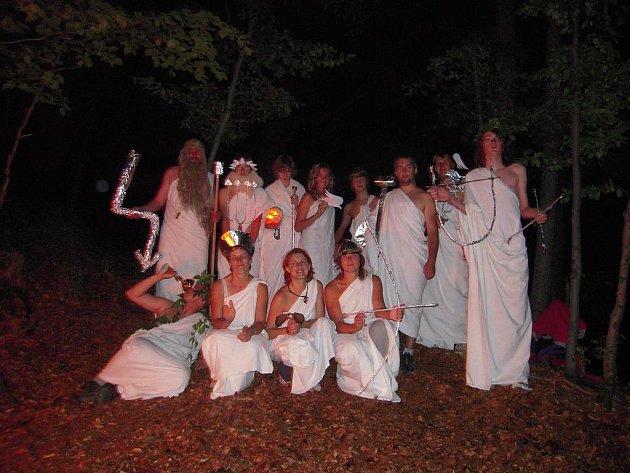Táborníky navštívili řečtí bohové