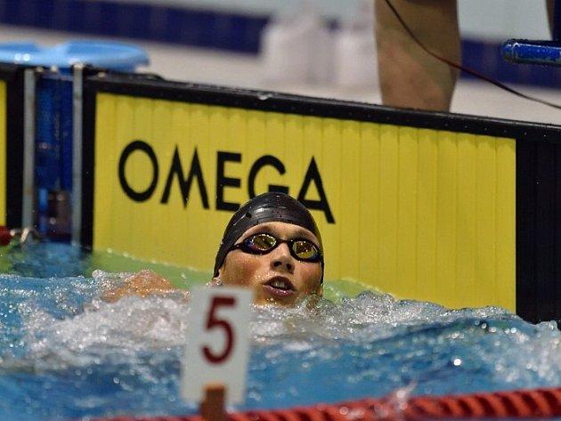 NÁCHODSKÝ plavec Pavel Janeček skončil v Plzni jednou těsně druhý a podruhé se o zlato musel dělit.