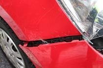 Srna vběhla pod auto, náraz nepřežila.