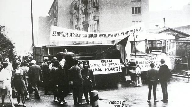 Náchod. Srpen 1968.