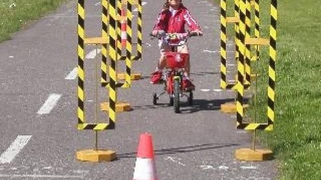 Den s policií je určen pro nejmenší cyklisty.