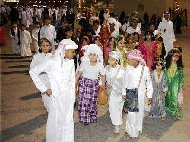 ZE SLAVNOSTI Ghrengaoh v Kataru.