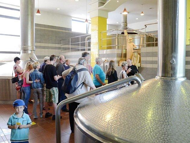 OBLÍBENOU akci Den P... Den plný piva uspořádal v sobotu náchodský pivovar.