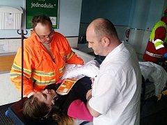 V nemocnici se připravovali na krizovou situaci
