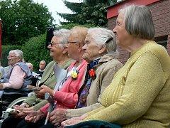 Oslavy 75. výročí založení polického domova důchodců.