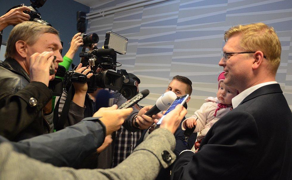 V Náchodě volili Pavel Bělobrádek, Jan Birke i Soňa Marková