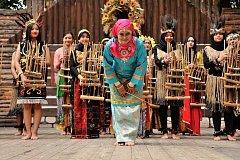 EXOTICKÉ SOUBORY jsou pestrým kořením  každého ročníku Mezinárodního folklorního festivalu.