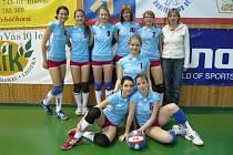 Výbornou sezonu korunují mladé volejbalistky Jaroměře na právě probíhajícím Přeboru České republiky v Ostravě.