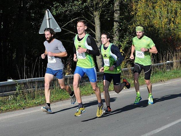 58. ročník silničního běhu Hronov - Náchod.