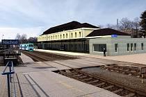 Vizualizace nového vlakového nádraží.